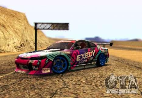 Nissan Silvia S15 EXEDY RACING TEAM für GTA San Andreas
