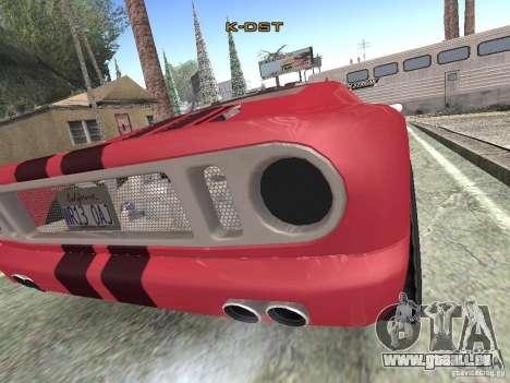 Bullet HQ pour GTA San Andreas sur la vue arrière gauche