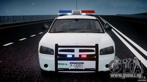 Dodge Charger US Border Patrol CHGR-V2.1M [ELS] pour GTA 4 Salon