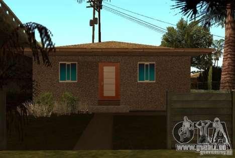Neue Texturen der Häuser an der Grove Street für GTA San Andreas dritten Screenshot