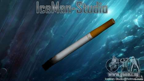 Realistische Zigarette für GTA San Andreas