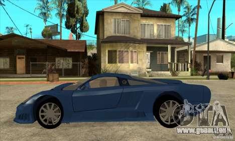 Saleen S7 v1.0 pour GTA San Andreas laissé vue