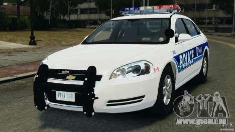 Chevrolet Impala 2012 LCPD pour GTA 4