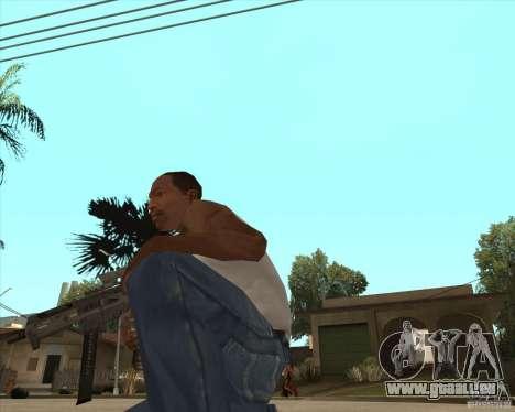 UMP-45 mit ACOG-54 für GTA San Andreas zweiten Screenshot