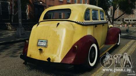 Shubert Taxi für GTA 4 hinten links Ansicht