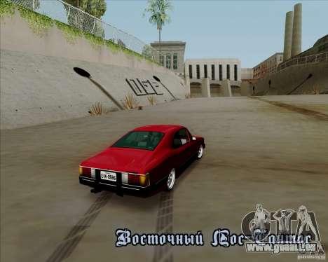 Chevrolet Opala Diplomata 1986 pour GTA San Andreas vue intérieure