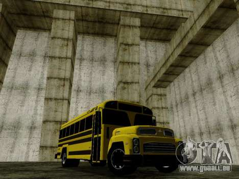 International Harvester B-Series 1959 School Bus für GTA San Andreas zurück linke Ansicht
