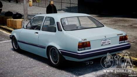 Chevrolet Chevette 1.6 1993 für GTA 4 hinten links Ansicht