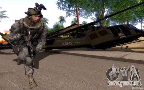 Le caporal Dunn pour GTA San Andreas