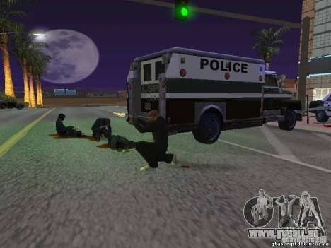Durch einen Schuss verletzt für GTA San Andreas dritten Screenshot