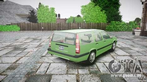 Volvo 850 Turbo 1996 für GTA 4 obere Ansicht