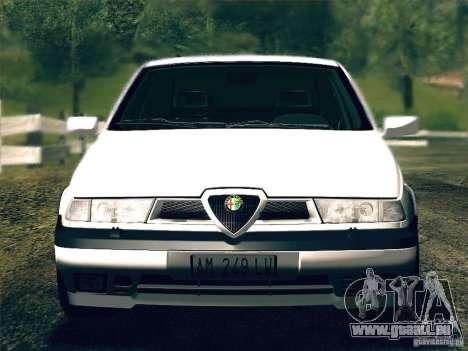 Alfa Romeo 155 1992 für GTA San Andreas Rückansicht