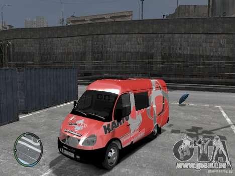 Gazelle 2705 Telkomsel Van pour GTA 4