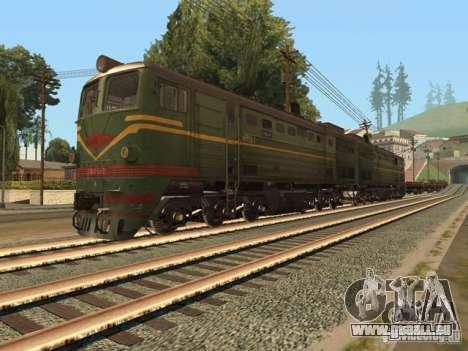 Diesel Lokomotive 2te10l für GTA San Andreas