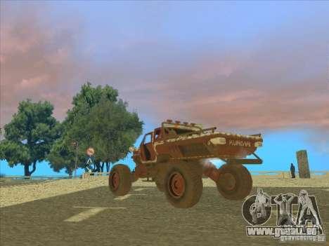 Wingy Dinghy v1.1 pour GTA San Andreas vue de droite