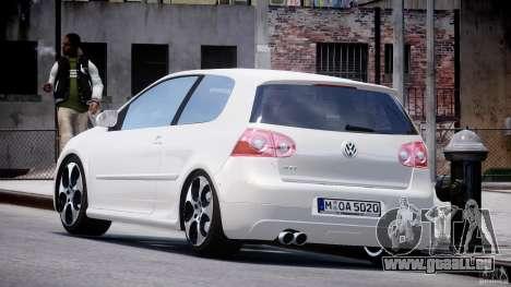 Volkswagen Golf GTI 2006 v1.0 pour GTA 4 Vue arrière de la gauche