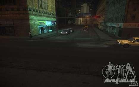 Route de HD v 2.0 finale pour GTA San Andreas deuxième écran