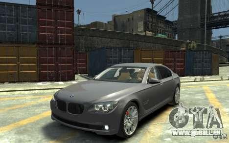 BMW ActiveHybrid 7 2010 pour GTA 4