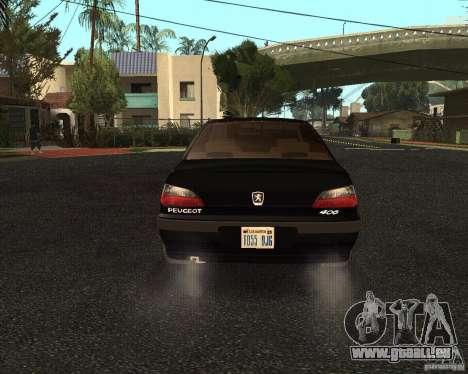 Peugeot 406 pour GTA San Andreas vue de droite