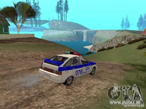 VAZ 21124 DPS pour GTA San Andreas vue de côté