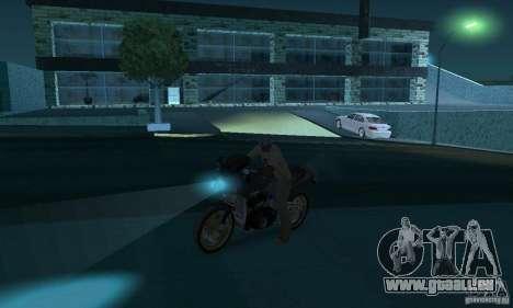 Lampes de couleur néon pour GTA San Andreas quatrième écran