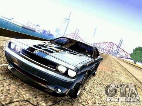 Dodge Challenger SRT8 2009 für GTA San Andreas Seitenansicht