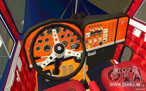 Peterbilt 359 Custom pour GTA San Andreas vue de droite