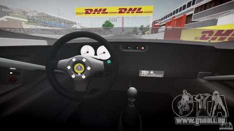 Lotus 2-11 für GTA 4 Rückansicht