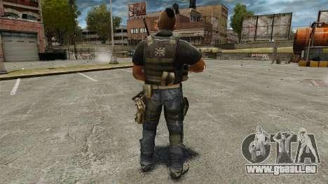 Le capitaine John « 4 » Mctavish pour GTA 4 troisième écran