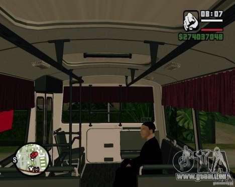 Fähigkeit zu sitzen für GTA San Andreas