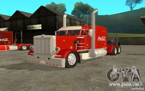 Peterbilt 379 Custom Coca Cola für GTA San Andreas