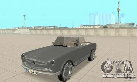 Mercedes-Benz 280SL (Matt) pour GTA San Andreas