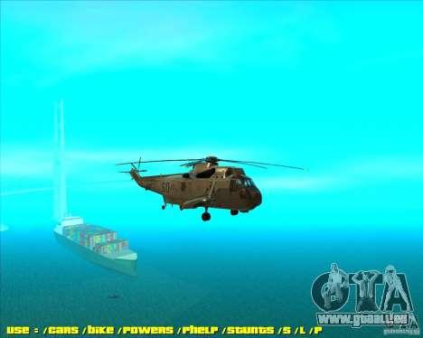SH-3 Seaking pour GTA San Andreas