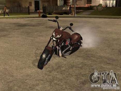 Harley Davidson pour GTA San Andreas