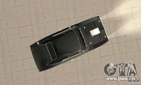 Dodge Charger RT 1970 The Fast & The Furious pour GTA San Andreas vue de droite