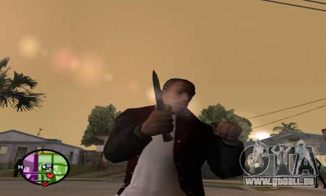 German WWII Knife pour GTA San Andreas