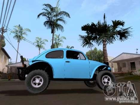 Volkswagen Buggy 1963 pour GTA San Andreas sur la vue arrière gauche