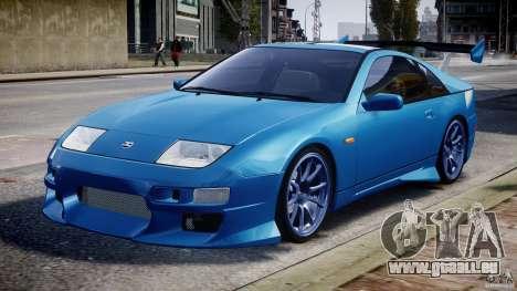Nissan 300 ZX 1994 v1.0 für GTA 4 Unteransicht