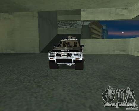 Toyota Surf v2.1 pour GTA San Andreas salon
