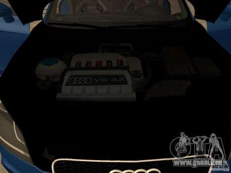 Audi TT RS pour GTA San Andreas vue de droite