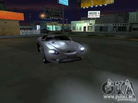 Ford Mustang 1993 pour GTA San Andreas vue arrière