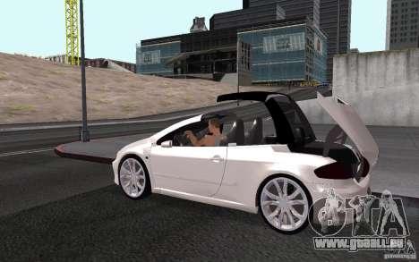 Peugeot 307CC BMS pour GTA San Andreas salon