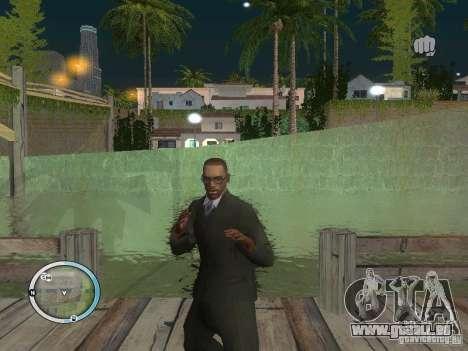 NEW GTA IV HUD 3 pour GTA San Andreas troisième écran