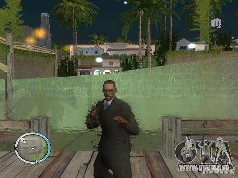 NEW GTA IV HUD 3 für GTA San Andreas dritten Screenshot