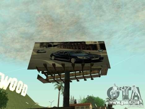 Die neue Werbung für die Mode für GTA San Andreas her Screenshot