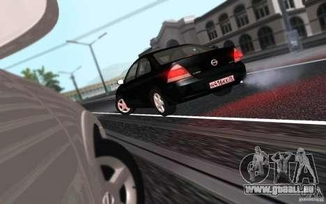 Nissan Almera Classic für GTA San Andreas Rückansicht