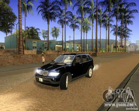 BMW X5 4.8 IS pour GTA San Andreas