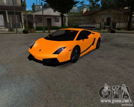 Lamborghini Gallardo LP570 Superleggera für GTA San Andreas