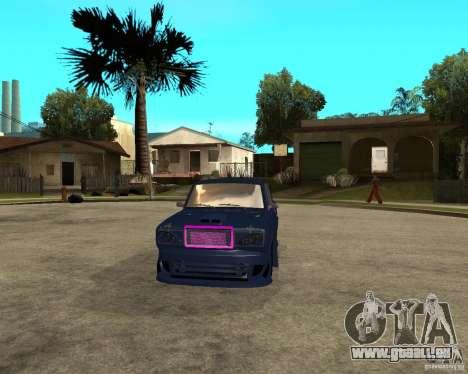 VAZ 2105 Street Race Tuning für GTA San Andreas Rückansicht