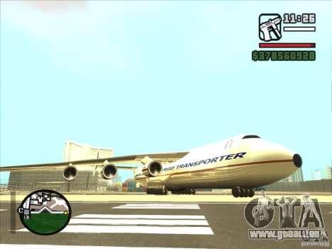 Antonov an-225 pour GTA San Andreas